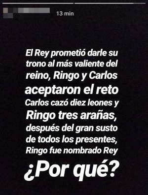 """Imagen - """"El Rey prometió darle su trono al más valiente..."""", el nuevo acertijo viral en Instagram"""