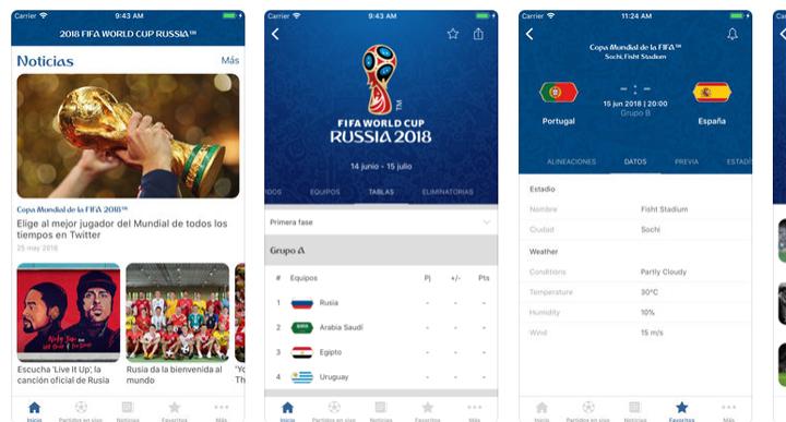 Imagen - 5 apps para seguir el Mundial de fútbol 2018 en el iPad y el iPhone