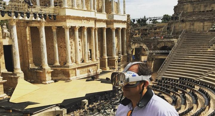 Imagen - El Teatro Romano de Mérida ya se puede visitar en realidad virtual con la app Imageen