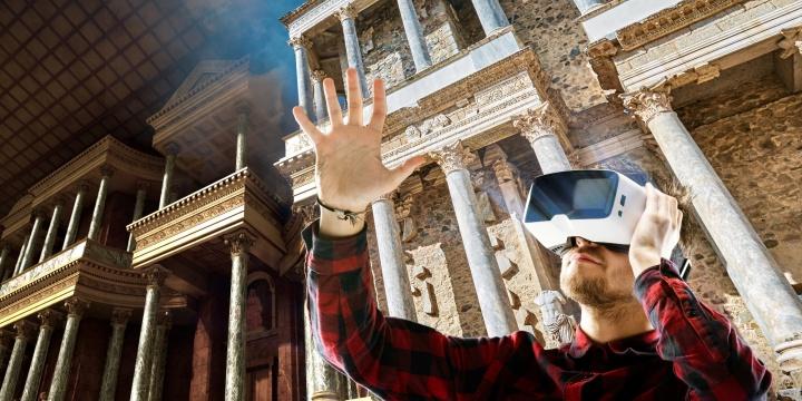 El Teatro Romano de Mérida ya se puede visitar en realidad virtual con la app Imageen