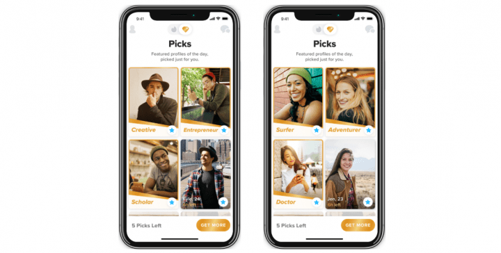 Imagen - Top Picks ya está disponible para Tinder Gold en Android e iOS