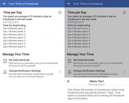 Imagen - Facebook nos indicará cuánto tiempo lo usamos