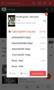 Imagen - VidMate, descarga música y vídeos de alta definición de YouTube