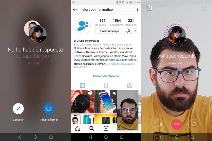Imagen - Instagram ya dispone de videollamadas