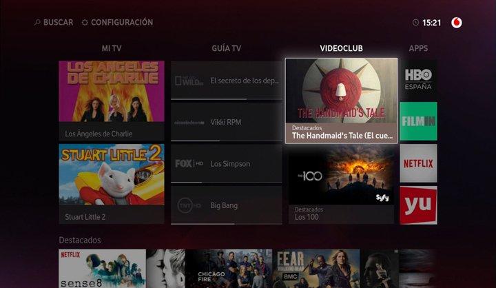 Imagen - Vodafone TV añade AXN Now y los canales Movistar Series y Estrenos