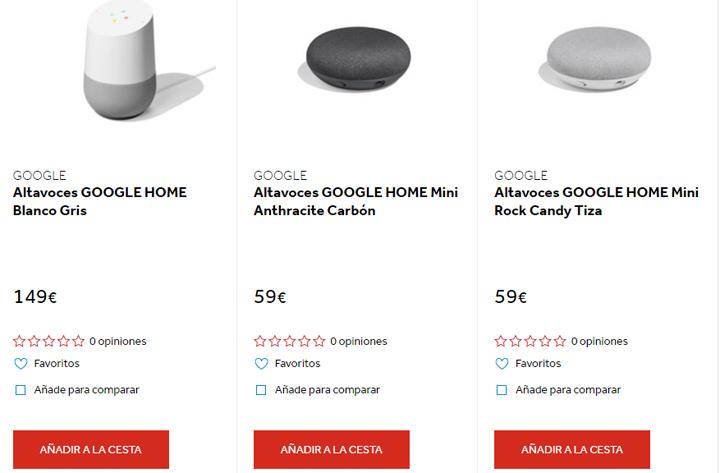 Imagen - Dónde comprar el Google Home