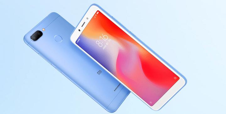 Xiaomi Redmi 6 y Redmi 6A son oficiales con baterías de 3.000 mAh y procesadores Mediatek