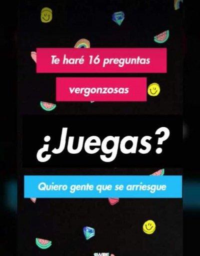 Te Hare 16 Preguntas Vergonzosas La Ultima Encuesta Viral En Instagram
