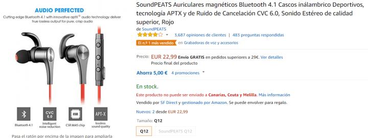 Imagen - 5 auriculares in-ear para comprar