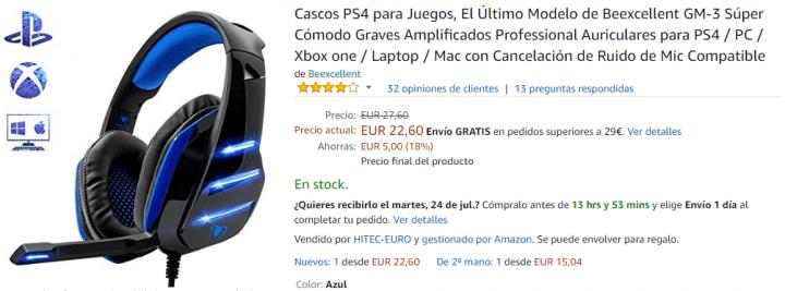 Imagen - 5 auriculares para PlayStation 4