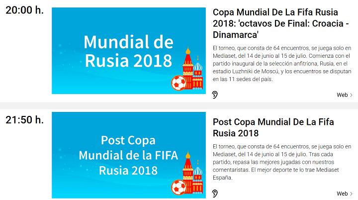 Imagen - Cómo seguir online Croacia vs Dinamarca del Mundial 2018