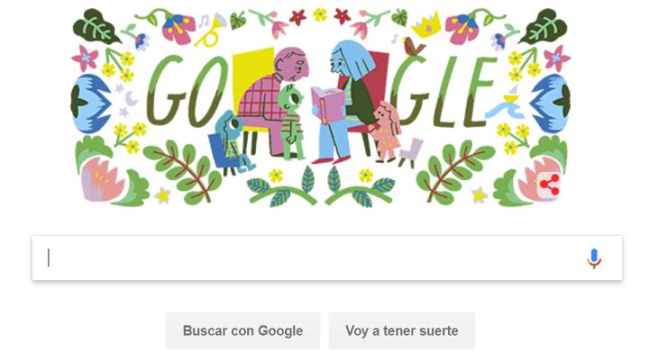 Imagen - Google dedica un Doodle al Día de los Abuelos