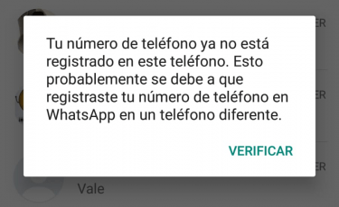 Imagen - Cuidado con los mensajes de verificación de WhatsApp no solicitados