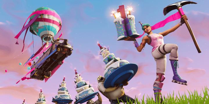 Cómo encontrar los pasteles de cumpleaños para bailar en Fortnite