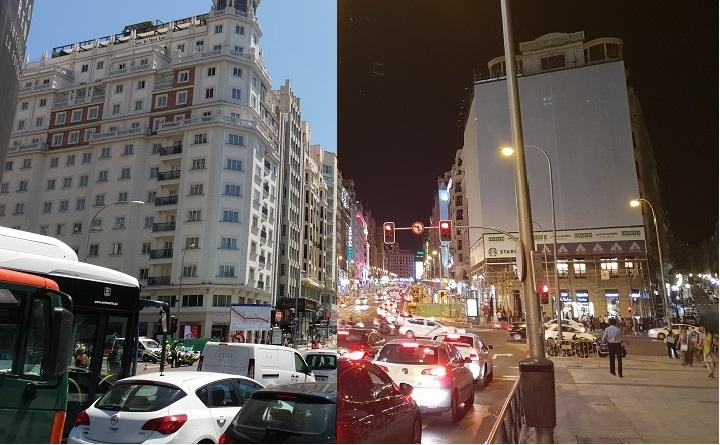 Imagen - Low light: diferencia de fotos a las 12 del mediodía y 12 de la noche con el Galaxy S9+