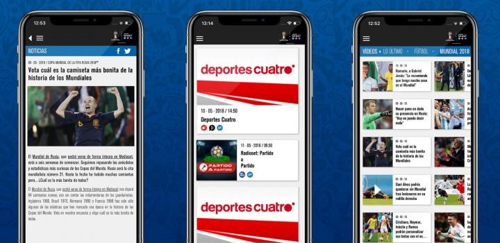 Imagen - Mediaset Sport, la aplicación que permite ver la selección española en el Mundial