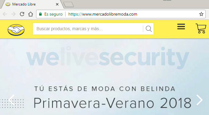 Imagen - Cuidado con las versiones falsas de Mercado Libre