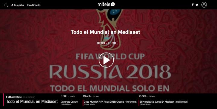 Imagen - Cómo ver online el partido Croacia - Inglaterra de semifinales del Mundial 2018