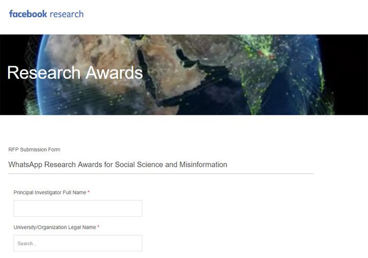 Imagen - WhatsApp convoca los Premios de Investigación para Ciencias Sociales y Desinformación