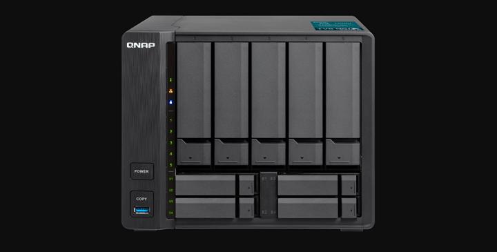 Imagen - TVS-951X de QNAP, el nuevo NAS multimedia con 9 bahías y diseño compacto