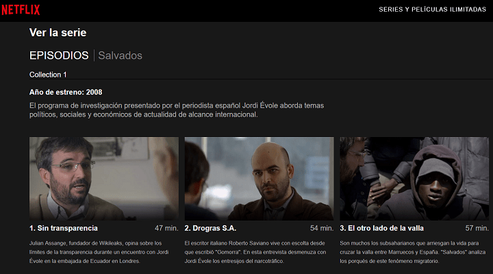 Imagen - Salvados de Jordi Évole ya está en Netflix