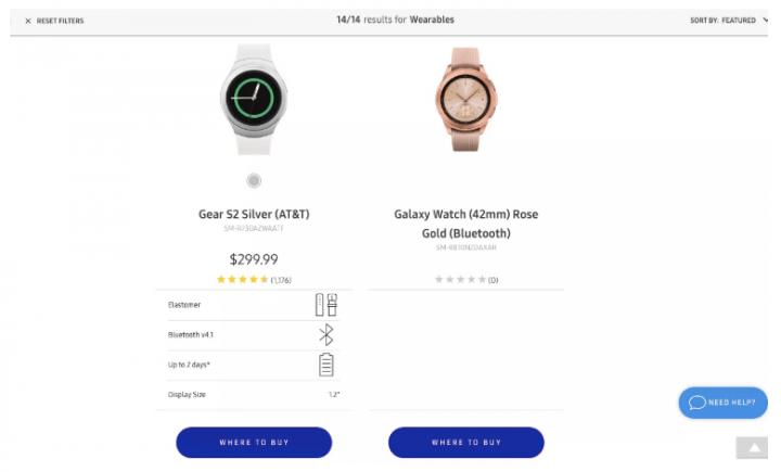 Imagen- Samsung Galaxy Watch se filtra con su primera imagen