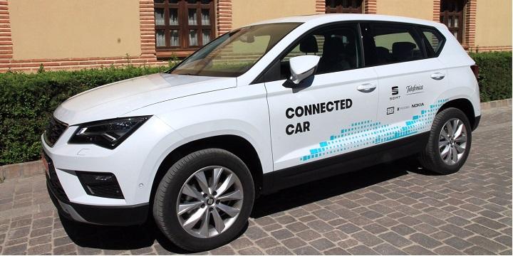Imagen - Telefónica realiza las primeras pruebas de conducción asistida con la red móvil en Segovia