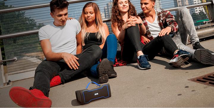 SPC Razz Speaker, el altavoz Bluetooth resistente con radio FM