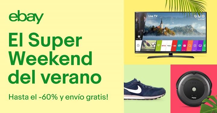 Imagen - Primer Super Weekend del verano de eBay: ofertas de hasta el 60% con envío gratuito
