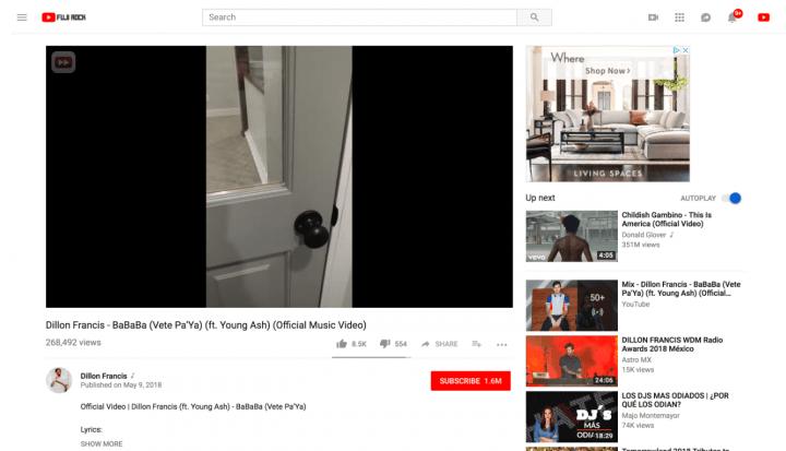 Imagen - YouTube ya se adapta a vídeos verticales y 4:3 en su versión de escritorio