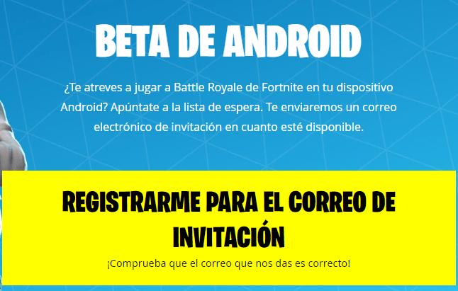 Imagen - La beta de Fortnite para Android ya está aquí