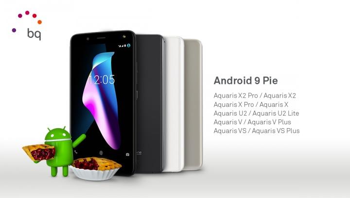 Imagen - Los 10 smartphones de BQ que se actualizarán a Android 9 Pie