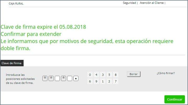 Imagen - Cuidado con el correo de Caja Rural que indica que han suspendido tu cuenta