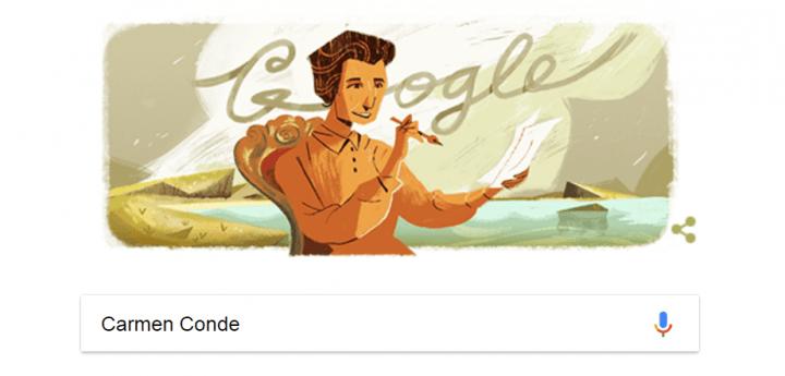 Imagen - Google dedica un Doodle a la poeta Carmen Conde
