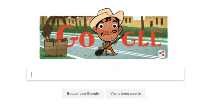 Google dedica un Doodle a Cantinflas