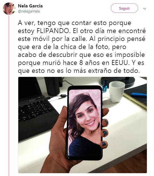 """Imagen - """"El otro día me encontré este móvil por la calle"""", el nuevo viral de Twitter"""