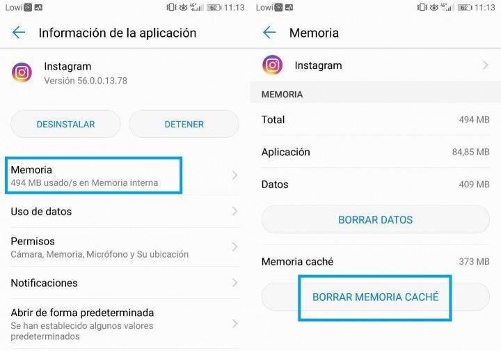 Imagen - Cómo activar la cámara de Instagram cuando un mensaje de error la impide usar