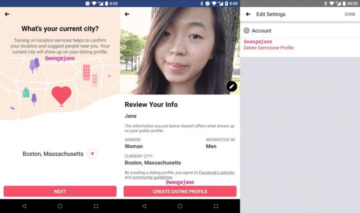Imagen - Facebook Dating se filtra: primeros detalles de la función inspirada en Tinder