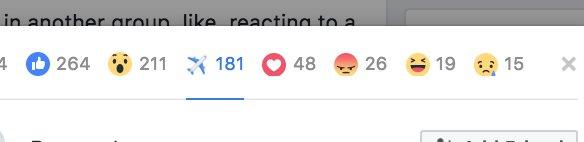 Imagen - Cómo activar la reacción de avión en Facebook