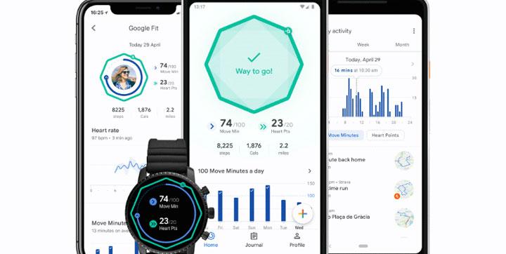 """Google Fit añade """"puntos de corazón"""" y compatibilidad con otras apps de fitness"""