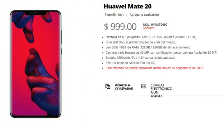 Imagen - Huawei Mate 20, se filtran sus especificaciones