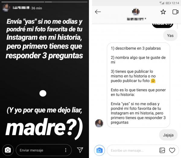 """Imagen - """"Envía 'yas' si no me odias"""", el viral de Instagram Stories con tu foto favorita"""