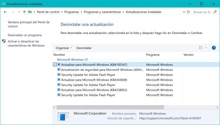 Imagen - Windows 10 sufre problemas con la actualización KB4100347: algunos PCs no inician