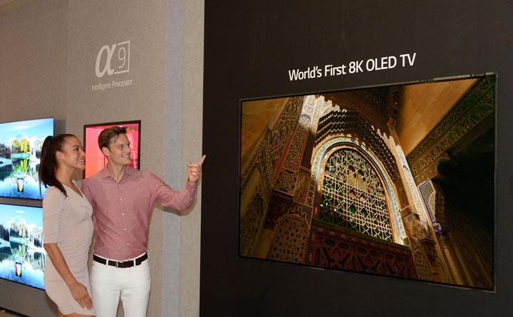 Imagen - LG presenta la primera televisión OLED 8K de 88 pulgadas