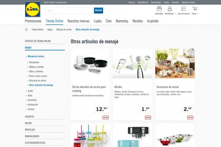 Imagen - Lidl abre su tienda online