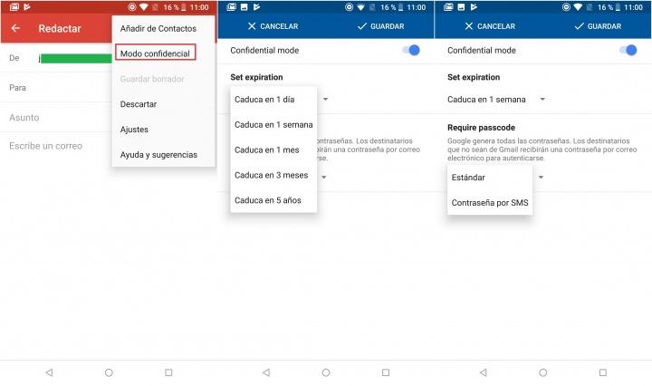 Imagen - Ya se pueden enviar mensajes confidenciales a través de Gmail para móviles