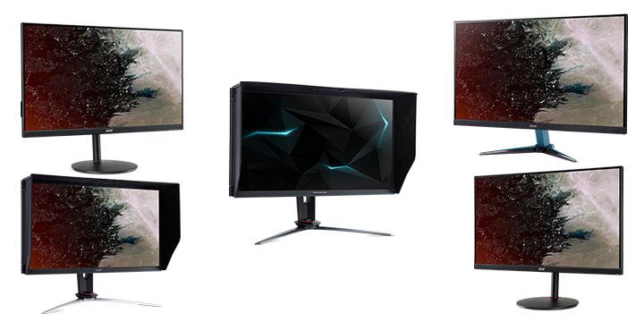 Predator XB3 y Nitro XV3, XV2, XF2 y VG1, los nuevos monitores gaming de 27 pulgadas
