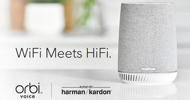 Netgear Orbi Voice, el altavoz inteligente con WiFi mesh, Alexa y audio de Harman Kardon