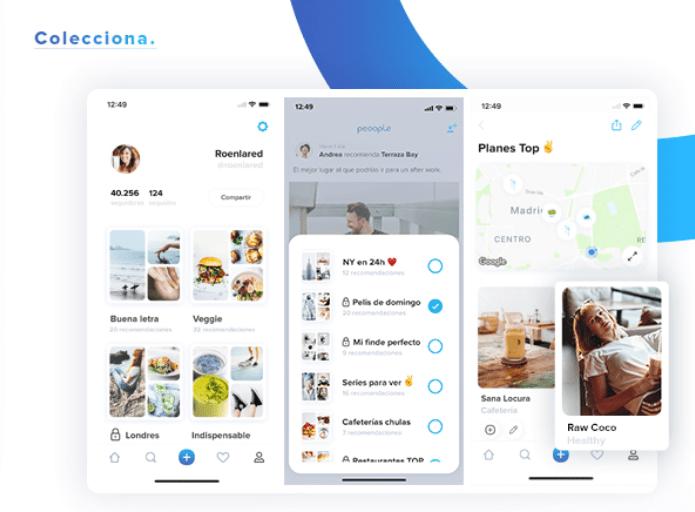 Imagen - Peoople, la red social con recomendaciones de influencers y de tus amigos