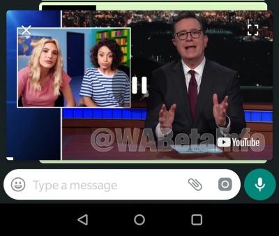 Imagen - WhatsApp añadirá PiP en Android: vídeos de YouTube e Instagram en una ventana flotante